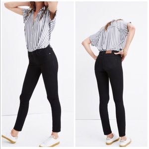 Madewell Skinny Skinny Charcoal Stretch Jeans, 27